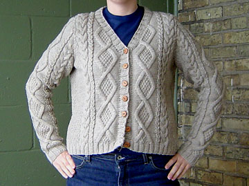 front of the Must Have cardigan