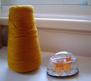wool destined for a Billy scarf