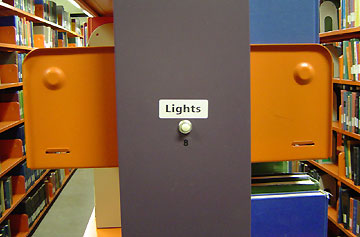 hit the stacks, hit the lights