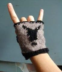IRO fingerless glove