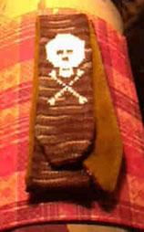 skull camera strap