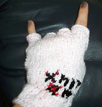 Knit On glove